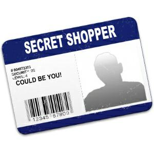 mystery shopper job: