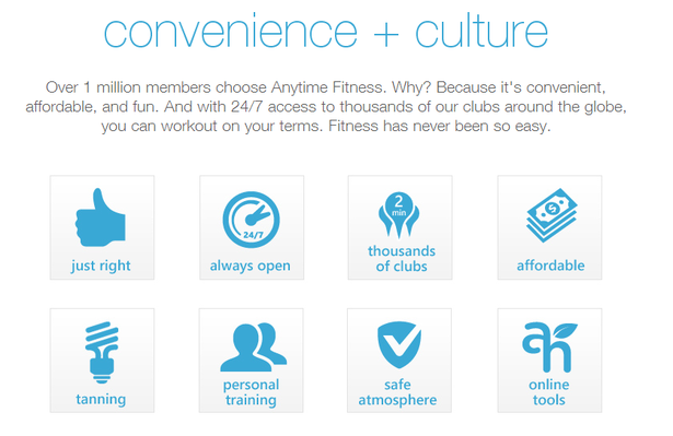 Anytime Fitness believe in 'convenience + culture+