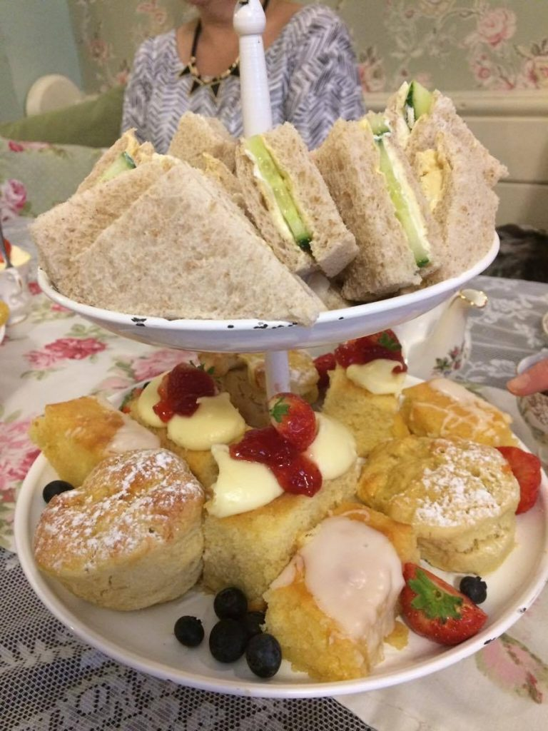 Our afternoon tea spread!